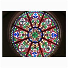 Church Window Window Rosette Collage Prints