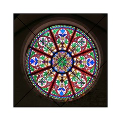 Church Window Window Rosette Acrylic Tangram Puzzle (6  x 6 )
