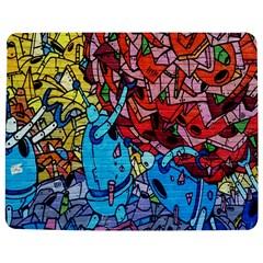 Colorful Graffiti Art Jigsaw Puzzle Photo Stand (Rectangular)
