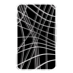 Black and white warped lines Memory Card Reader
