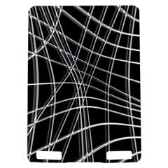 Black and white warped lines Kindle Touch 3G