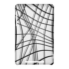 White and black warped lines Nexus 7 (2012)