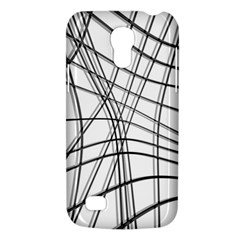 White and black warped lines Galaxy S4 Mini