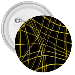 Yellow abstract warped lines 3  Buttons