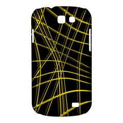 Yellow abstract warped lines Samsung Galaxy Express I8730 Hardshell Case