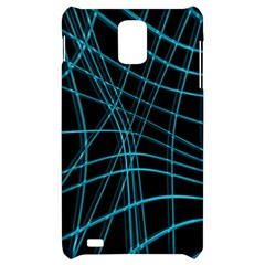 Cyan and black warped lines Samsung Infuse 4G Hardshell Case