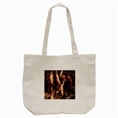 Fabric Yikes Texture Tote Bag (Cream)