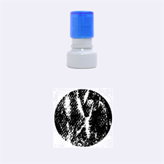 Fabric Yikes Texture Rubber Round Stamps (Small)