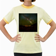 Fairyland Canyon Utah Park Women s Fitted Ringer T-Shirts