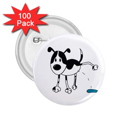 My cute dog 2.25  Buttons (100 pack)