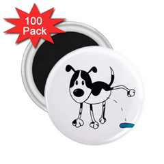 My cute dog 2.25  Magnets (100 pack)