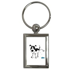 My cute dog Key Chains (Rectangle)