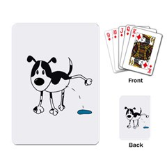 My cute dog Playing Card