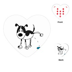 My cute dog Playing Cards (Heart)