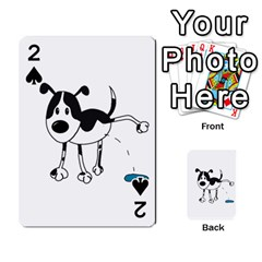My cute dog Playing Cards 54 Designs