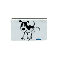 My cute dog Cosmetic Bag (Small)