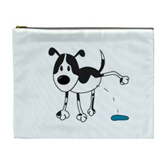 My Cute Dog Cosmetic Bag (xl)