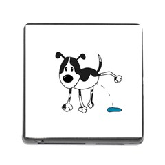My cute dog Memory Card Reader (Square)