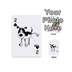 My cute dog Playing Cards 54 (Mini)