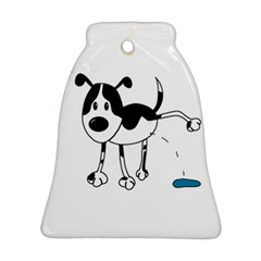 My cute dog Bell Ornament (2 Sides)