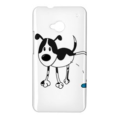 My cute dog HTC One M7 Hardshell Case