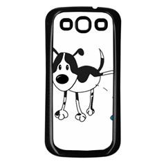 My cute dog Samsung Galaxy S3 Back Case (Black)