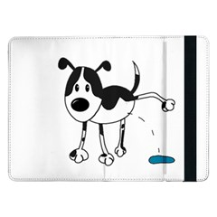 My cute dog Samsung Galaxy Tab Pro 12.2  Flip Case