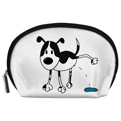My cute dog Accessory Pouches (Large)