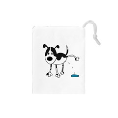 My cute dog Drawstring Pouches (Small)