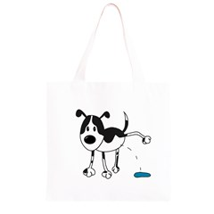 My cute dog Grocery Light Tote Bag