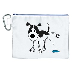 My cute dog Canvas Cosmetic Bag (XXL)