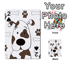 Cute dog Playing Cards 54 Designs