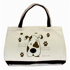 Cute dog Basic Tote Bag