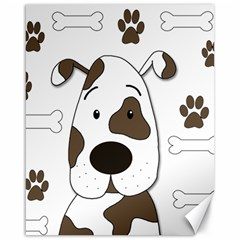 Cute dog Canvas 16  x 20