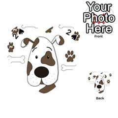 Cute dog Playing Cards 54 (Heart)