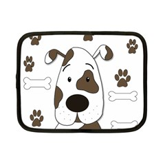 Cute dog Netbook Case (Small)