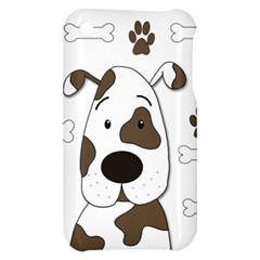 Cute dog Apple iPhone 3G/3GS Hardshell Case