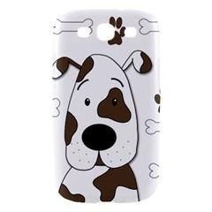 Cute dog Samsung Galaxy S III Hardshell Case