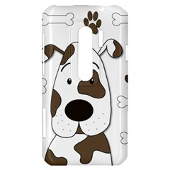 Cute dog HTC Evo 3D Hardshell Case