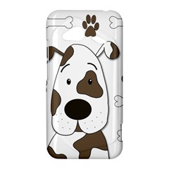 Cute dog HTC Droid Incredible 4G LTE Hardshell Case