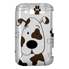 Cute dog HTC Wildfire S A510e Hardshell Case