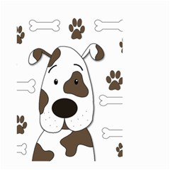 Cute dog Small Garden Flag (Two Sides)