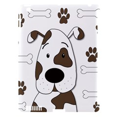 Cute dog Apple iPad 3/4 Hardshell Case (Compatible with Smart Cover)