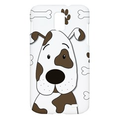 Cute dog Samsung Galaxy S II Skyrocket Hardshell Case