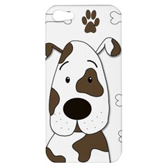 Cute dog Apple iPhone 5 Hardshell Case
