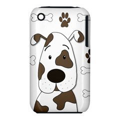 Cute dog Apple iPhone 3G/3GS Hardshell Case (PC+Silicone)