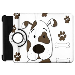 Cute dog Kindle Fire HD Flip 360 Case
