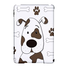 Cute dog Apple iPad Mini Hardshell Case (Compatible with Smart Cover)