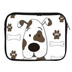 Cute dog Apple iPad 2/3/4 Zipper Cases