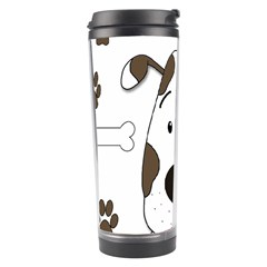 Cute dog Travel Tumbler